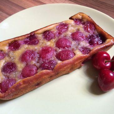 Pastel de cerezas (Clafoutis)