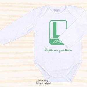 "Body bebé ""L"" personalizable"