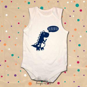 "Body bebé ""Dino"" personalizado"