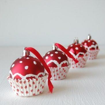 Cupcake para nuestro ábol de navidad