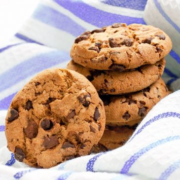 Galletas con pepitas de chocolate