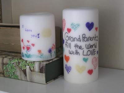 Pintar y personalizar velas