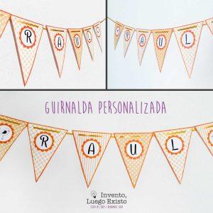 Guirnalda Personalizada Amarilla